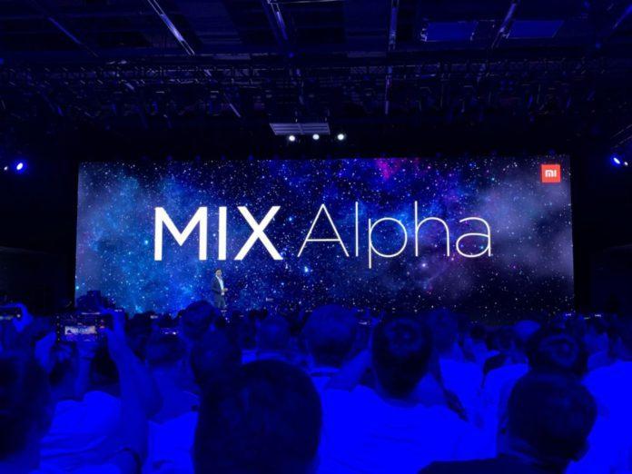 Представили Mi Mix Alpha