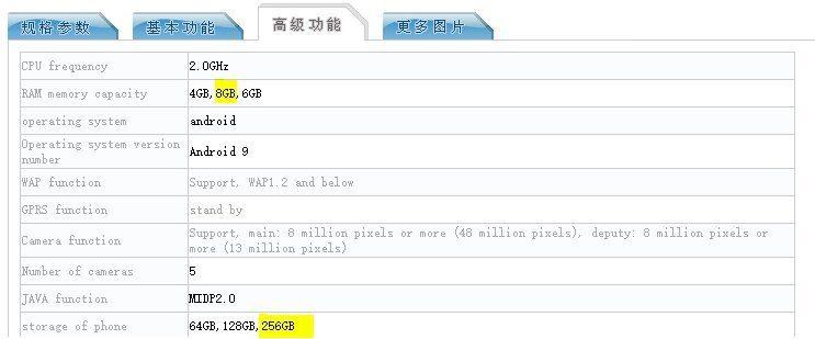 Redmi Note 8 с 8 Гб ОЗУ и 256 Гб накопителем