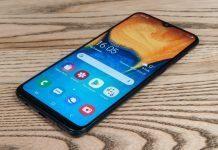Фронтальная панель Samsung Galaxy A20
