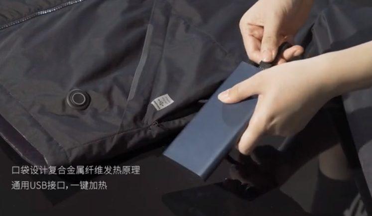 Пуховик от Xiaomi