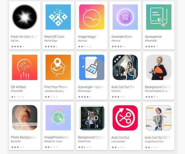 Названы 15 опасных приложения в магазине Google