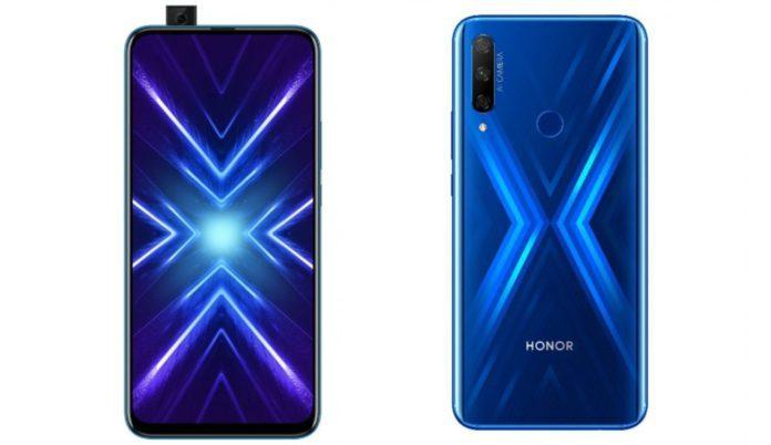 Honor 9X международная версия