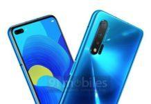 Huawei Nova 6 5G - копия дизайна Galaxy S10 и Honor 20 Pro