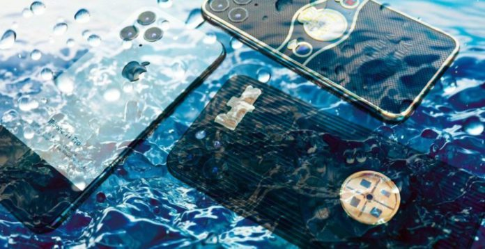 iPhone 11 утопили