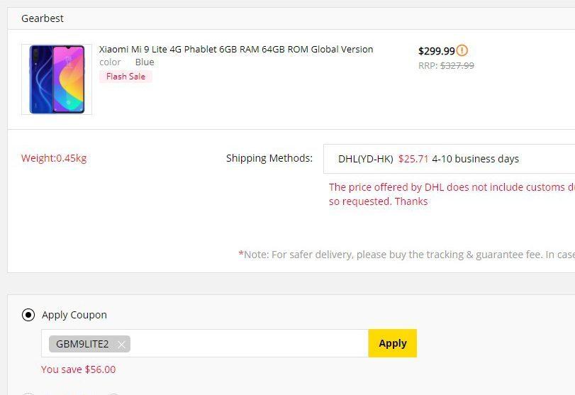 Можно снизить цену на Xiaomi Mi 9 Lite