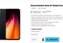 Redmi Note 8T на сайте Giztop