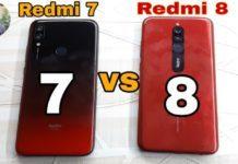 Сравнение Redmi7 vs Redmi8