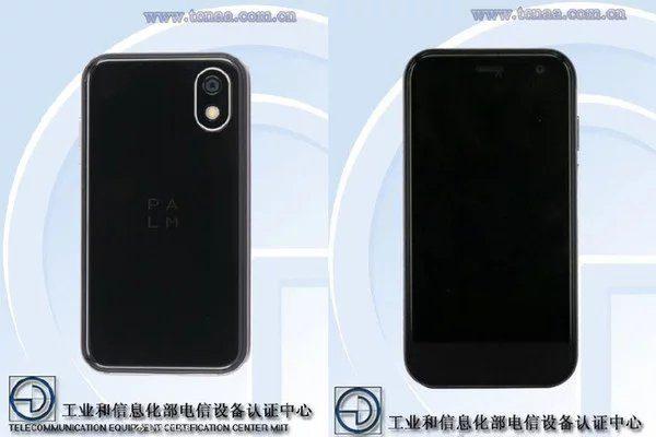Смартфон Palm с 3.3-дюймовый