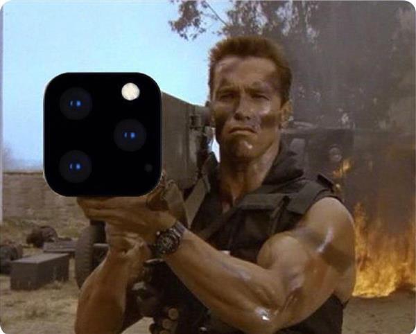 Камера iPhone 11 и Терминатор