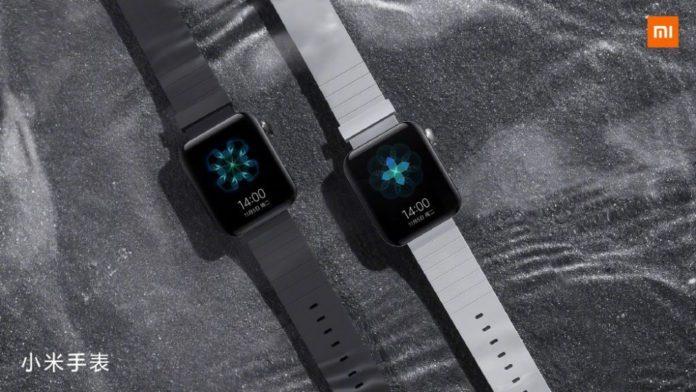 Xiaomi Smart Watch копируют дизайн Apple Watch