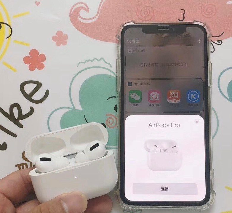 AirPodsPro photo of the Chinese example