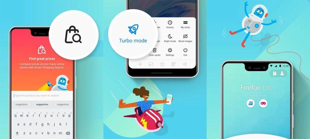 Firefox Lite 2.0 для Android