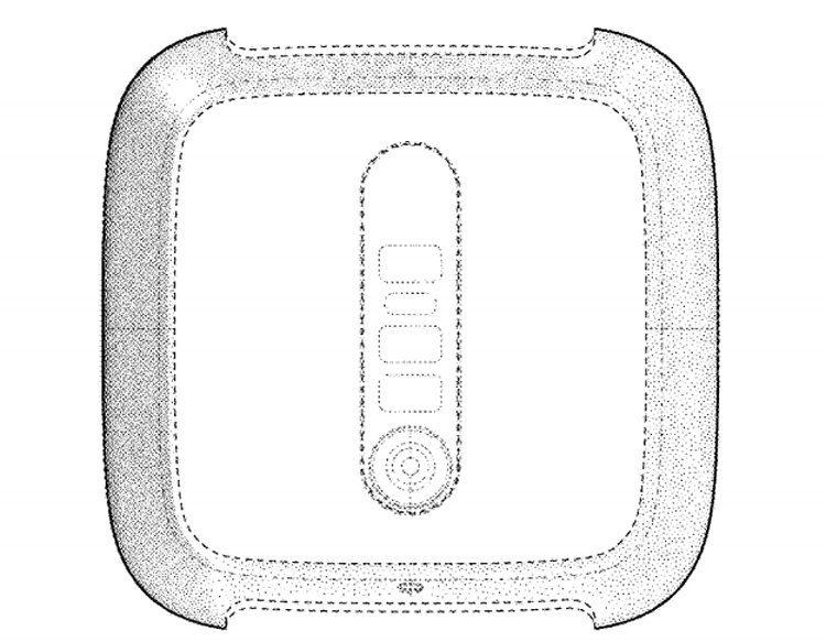 Fitbit-Google - патент нового устройства-3