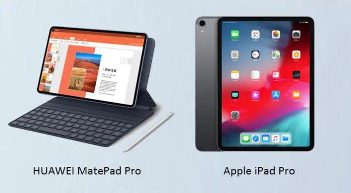 Huawei MatePad Pro и Apple iPad Pro