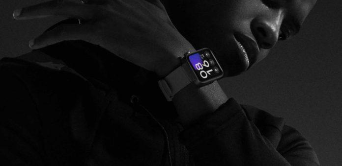 Умные часы Mi Watch Xiaomi водонепроницаемые