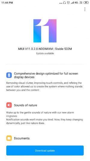 Xiaomi Mi Mix и Mi Max 2 теперь с оболочкой MIUI 11