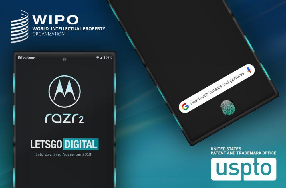 motorola rarz-2 новый патент, рендерные фото, управление жестами