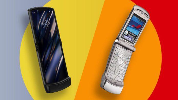 Motorola Razr и Razr 2019