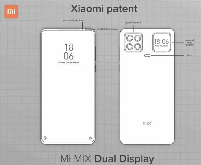 Смартфон Xiaomi с дополнительным дисплеем