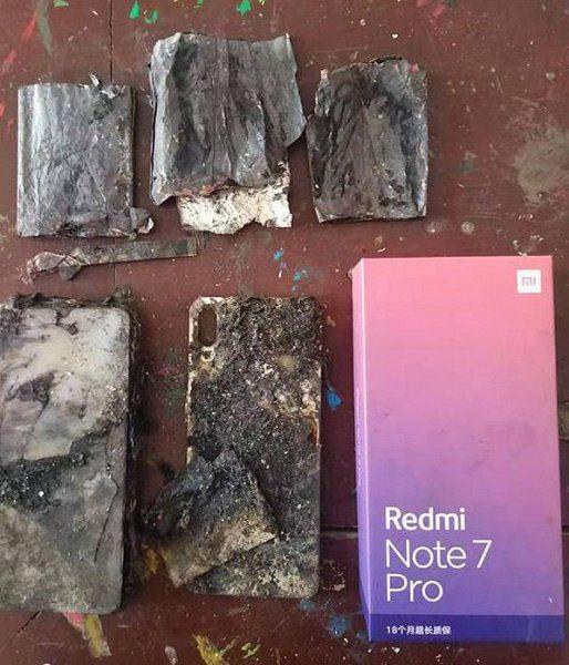 Xiaomi Redmi Note 7 S сгорел по непонятным причинам-2