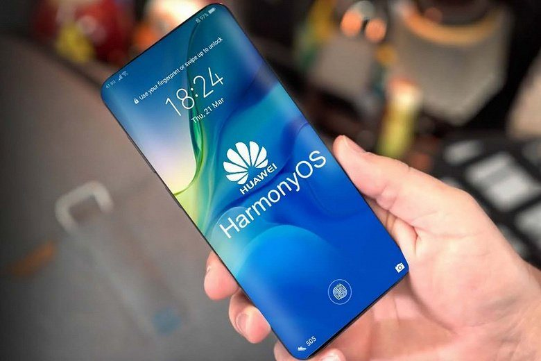 HarmonyOS возможно станет частью системы Huawei P40 Pro