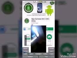 Интерфейс Spy Camera OS - программа для скрытой записи видео