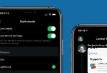 ночной режим в смартфонах положительно на здоровье не отражается, но может нарушить сон