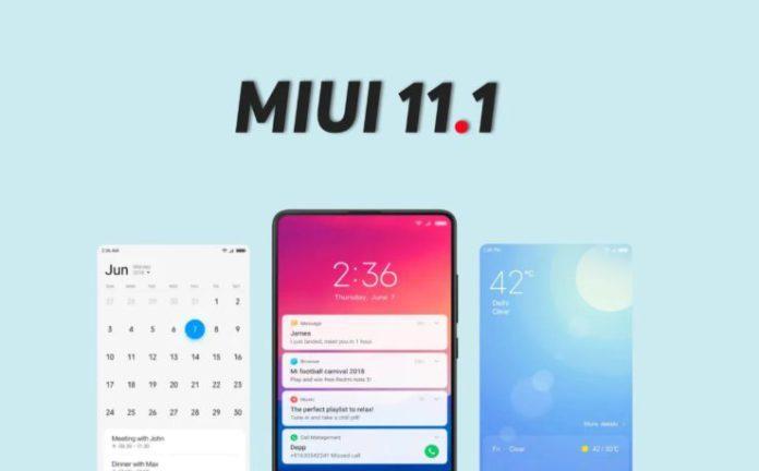 Обновление 11-1 прошивки MIUI радует нововведениями