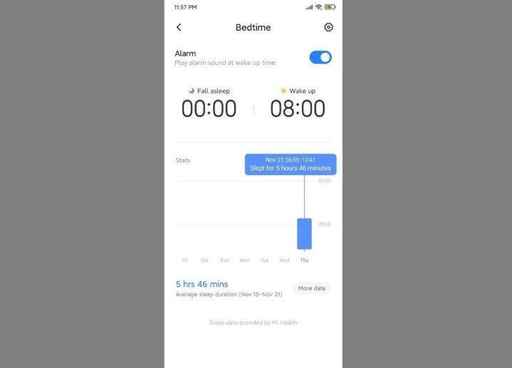 Обновление MIUI 11-1-режим сна