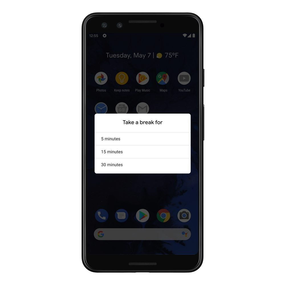 Приостановка работы Focus Mode для Android 10 и 9 Pie