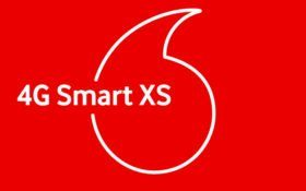 Стартовый пакет Vodafone 4G Smart XS предлагается оператором за 30 грн в месяц