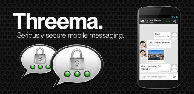 Threema-Самые надежные и безопасные мессенджеры для ОС Android