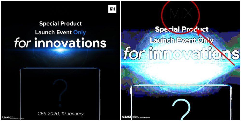 Xiaomi Mi Mix 4 и предположительная дата презентации