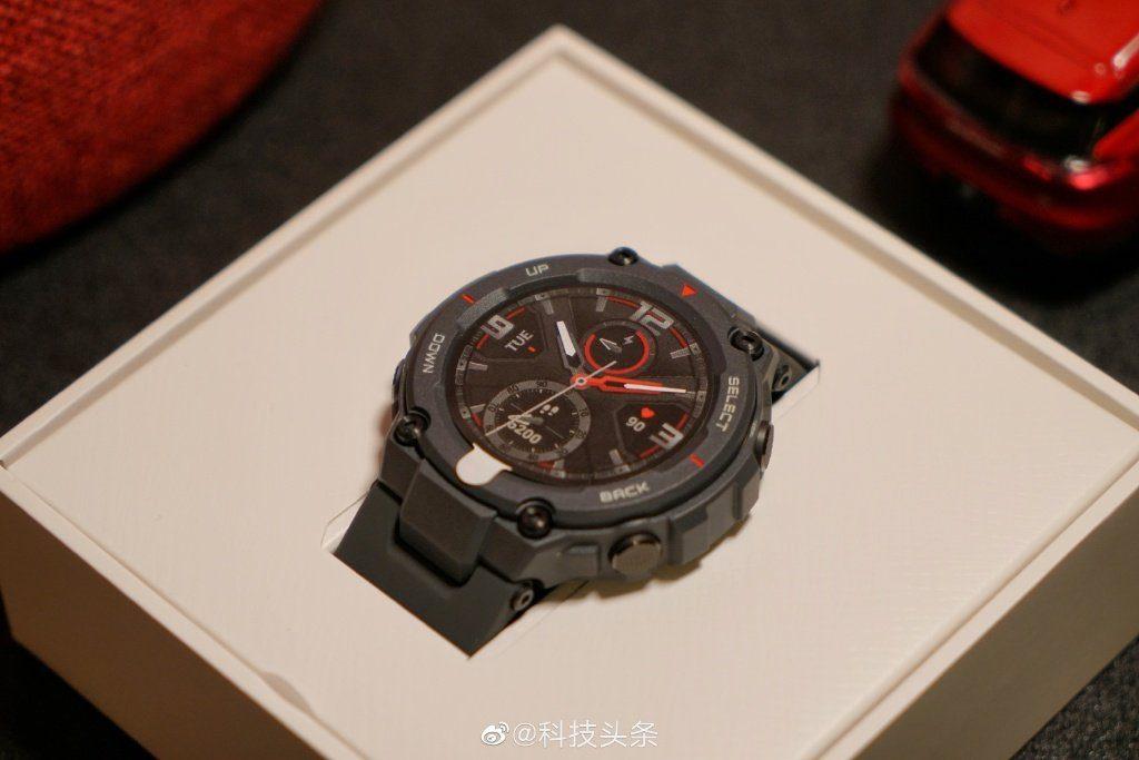 Amazfit представил сверхпрочные смарт-часы Amazfit T-Rex _ 2