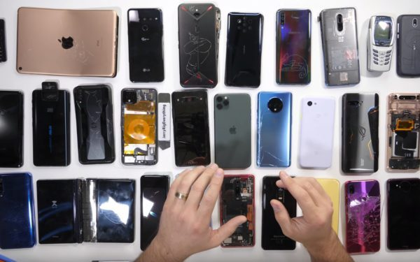 Блогер подвел итоги - Самые красивые, хрупкие, инновационные и ремонтопригодные смартфоны 2019 года