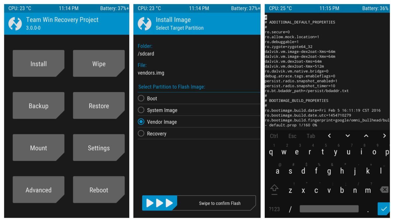 Для Xiaomi Mi A3 и Redmi Note 8 Pro теперь доступно рекавери TWRP - интерфейс утилиты