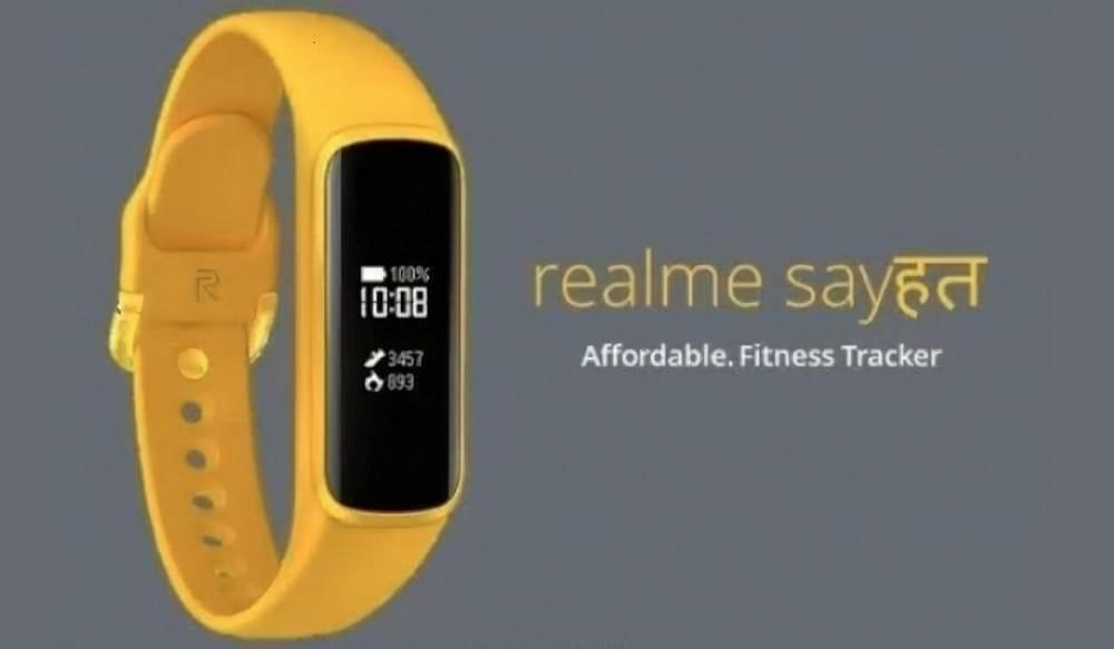фитнес-трекер Realme Sayshat - живые фото и характеристики конкурента Mi Band 4