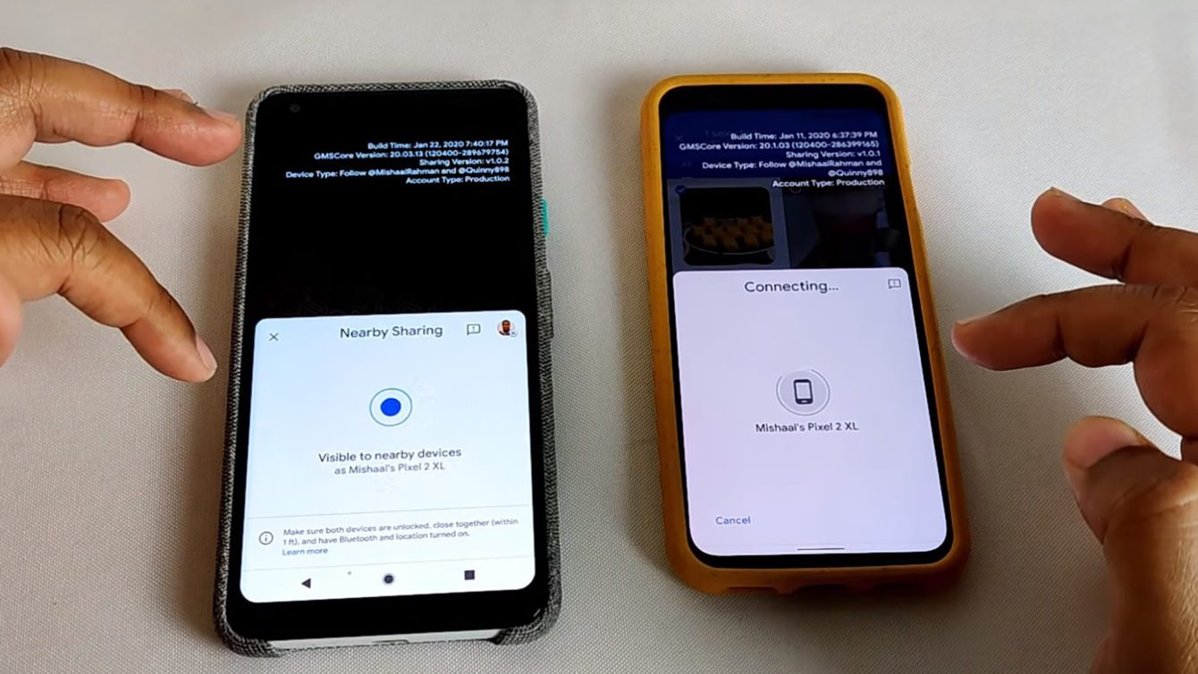 Google представит аналог AirDrop, работающий на всех Android-смартфонах