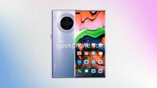 Каким будет Huawei Mate 40 Pro – рендерные изображения