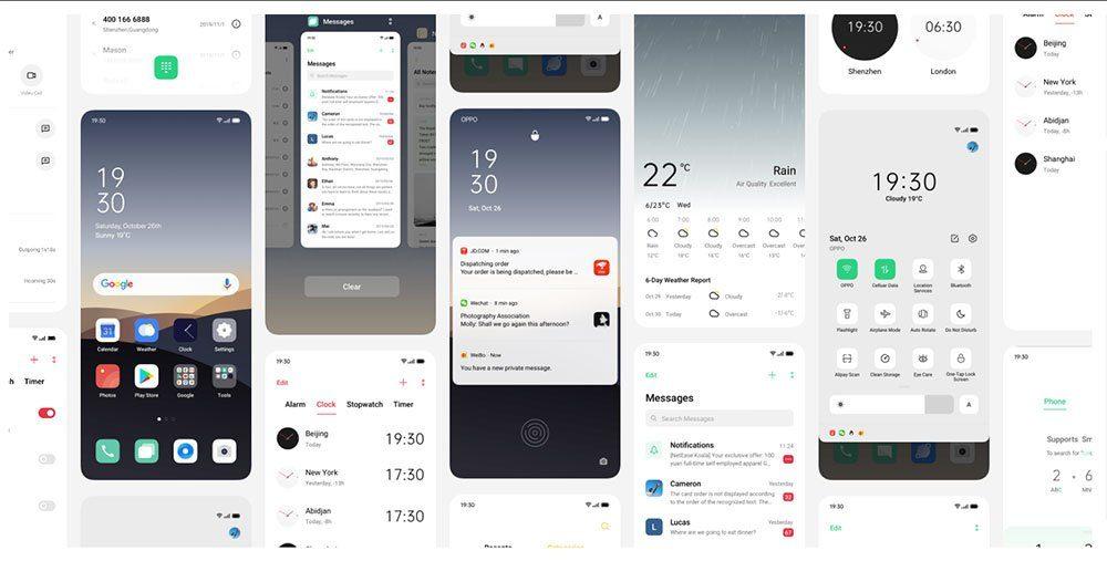Каким смартфонам Oppo приходит бета-версия ColorOS 7