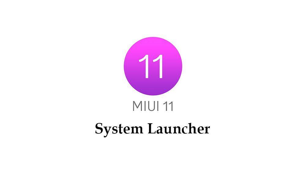 Лаунчер MIUI с «меню приложений» доступен для скачивания всем
