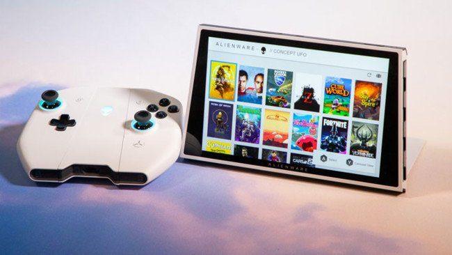 новая игровая консоль-ноутбук на Windows 10 - Dell Alienware UFO_1