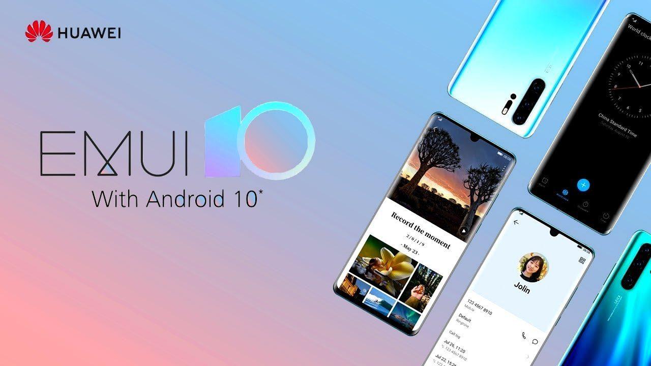 Официальный список смартфонов Huawei, которым придет прошивка EMUI 10