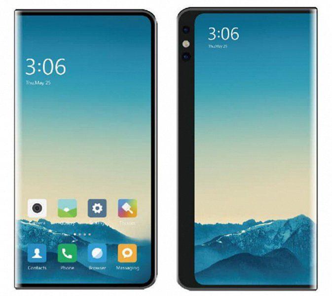 Опубликовали патентные изображения новых смартфонов Xiaomi с гибким экраном