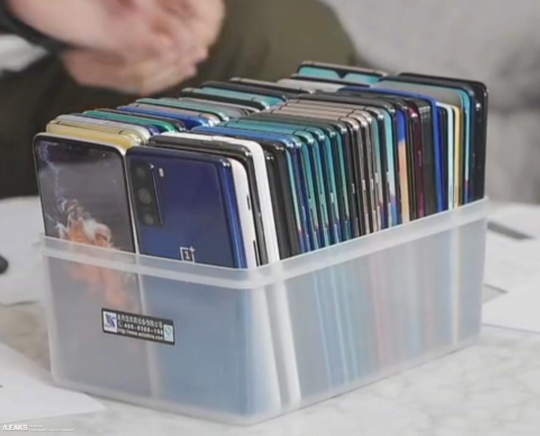 Первые «живые» фото смартфона OnePlus 8 Lite