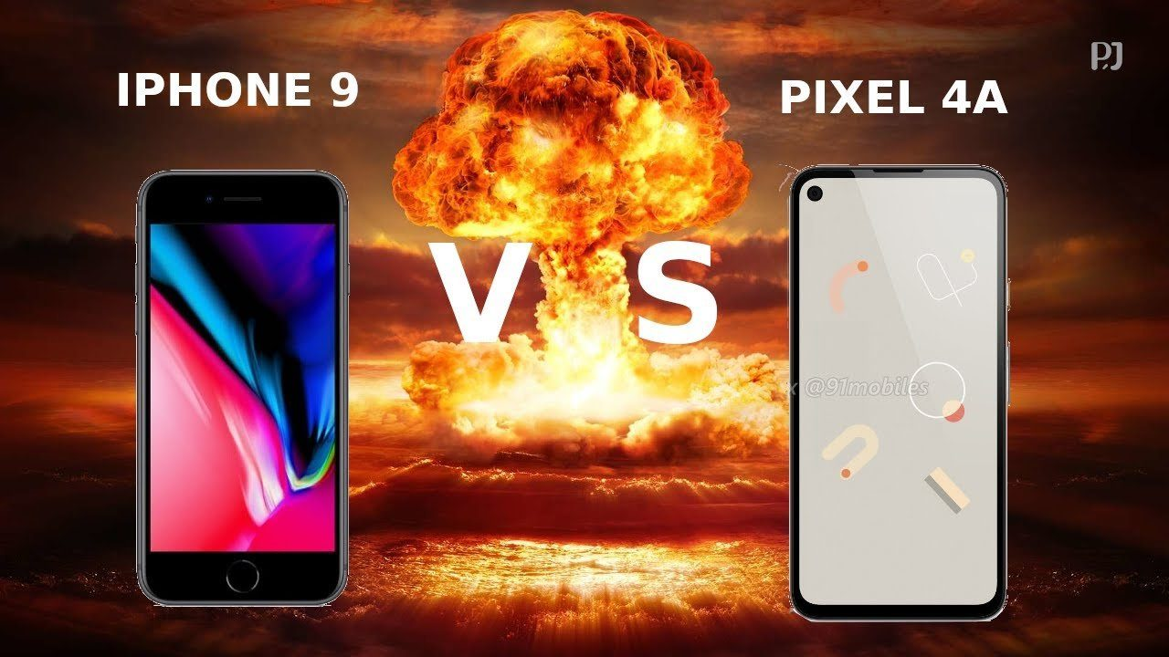Pixel 4a vs iPhone 9 - какой смартфон круче