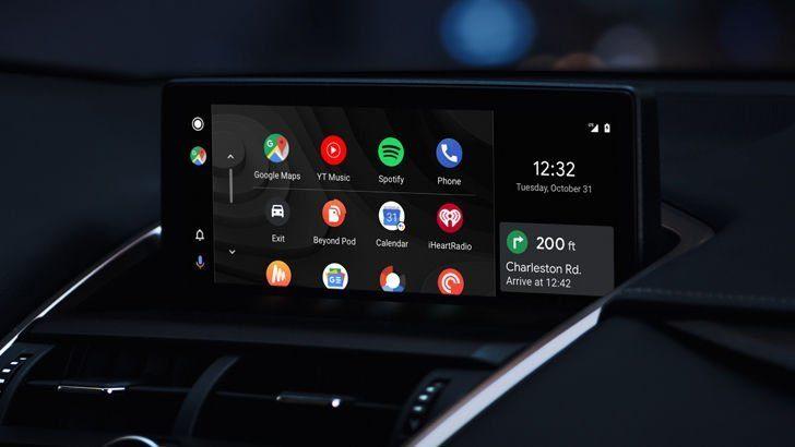 Популярность приложения Android Auto растет в геометрической прогрессии