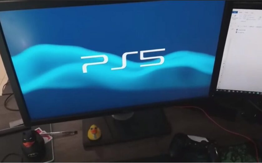 Реальная PlayStation 5 на видео