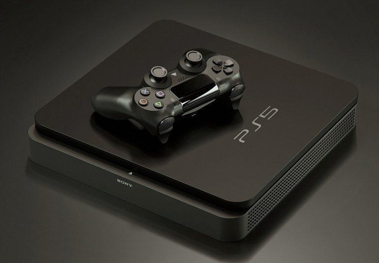 Рендер PlayStation 5 который похож на модель слитого в видеоролике