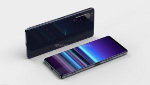 Рендерное живое фото макета Sony Xperia 5 Plus 3